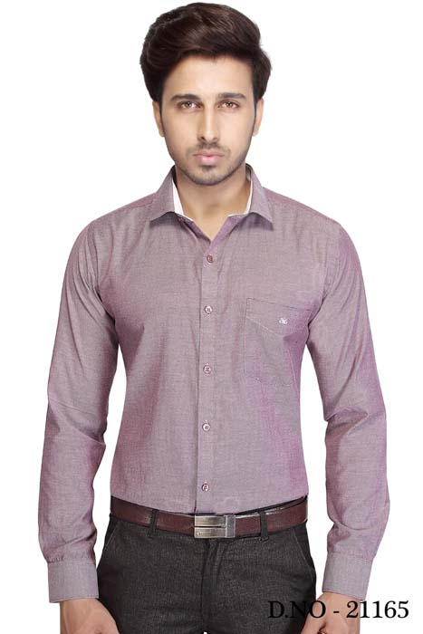 BT NEELA 01-PURPLE FORMAL SHIRT