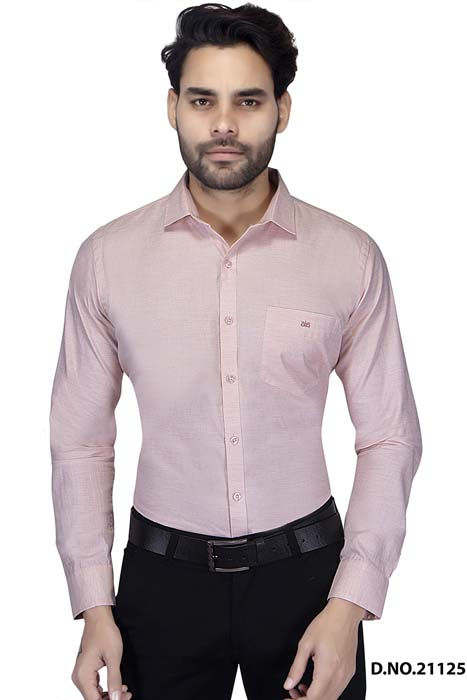 BT RAPIER 02-PEACH FORMAL SHIRT