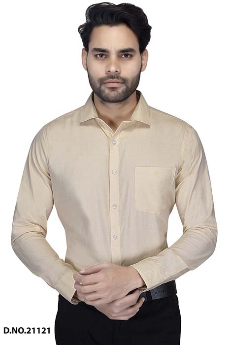BT RAPIER 02-YELLOW FORMAL SHIRT