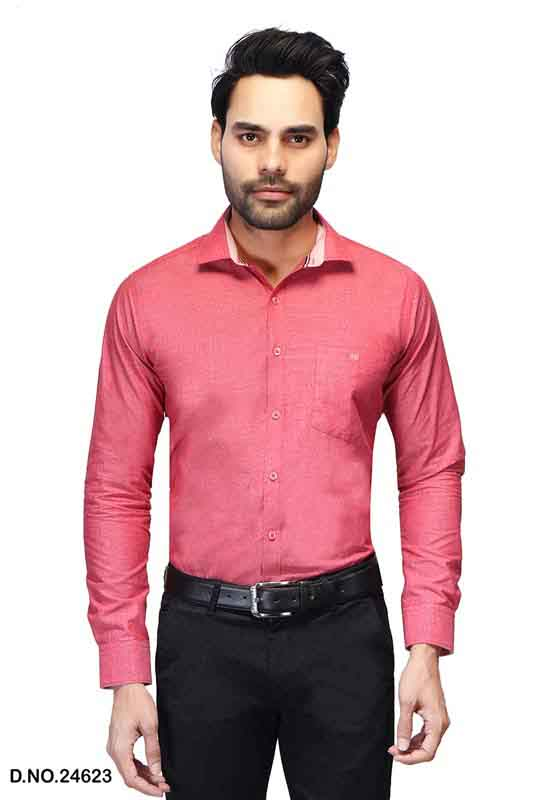 BT RAPIER 04-RED FORMAL SHIRT