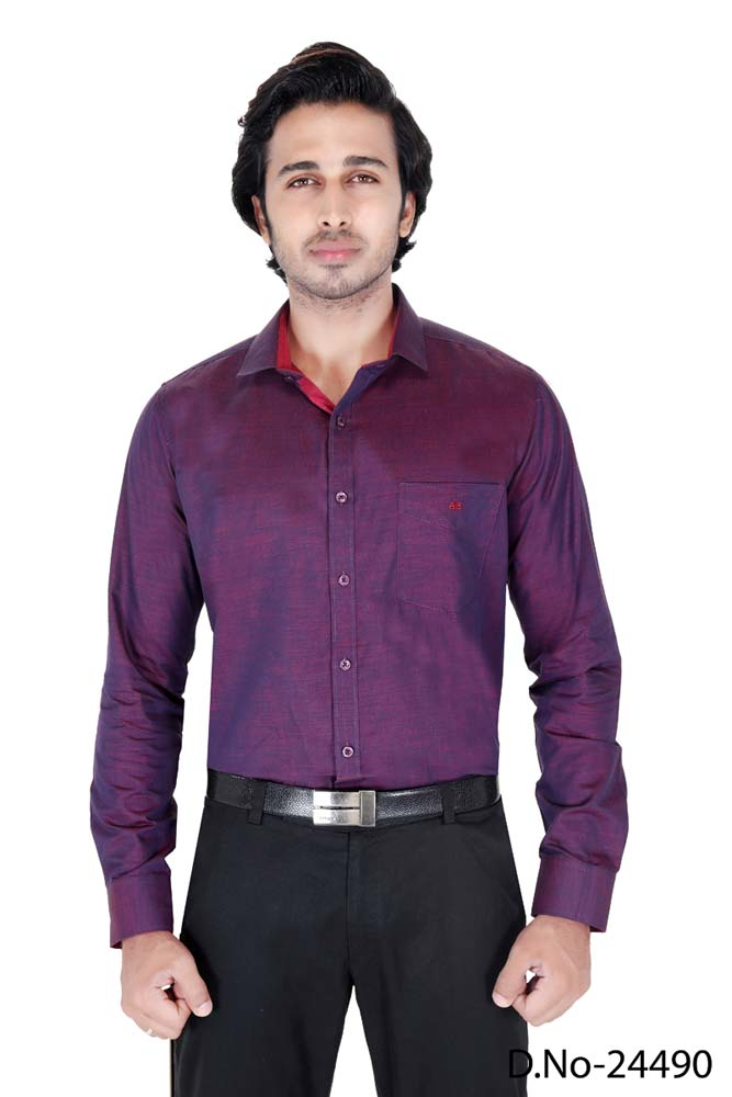 BT RAPIER 05-MAGENTA FORMAL SHIRT