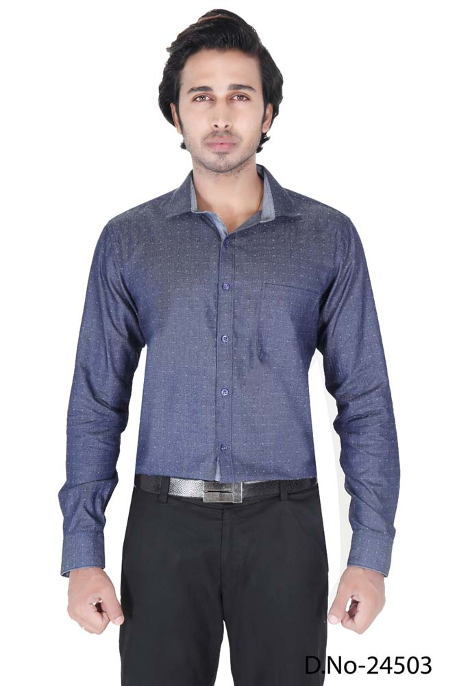 BT RAPIER 05-NAVY FORMAL SHIRT