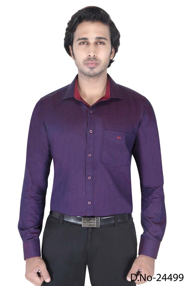 BT RAPIER 05-PINK DOT FORMAL SHIRT