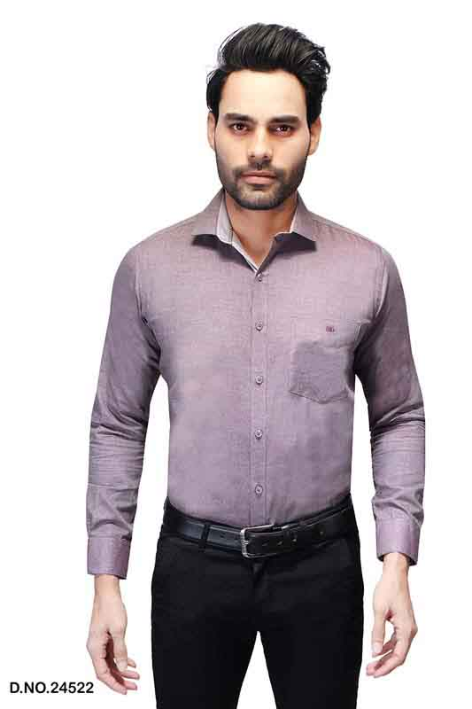 BT RAPIER 06-LIGHT BROWN FORMAL SHIRT