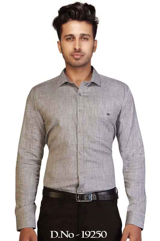BT RAPIER-GRAY FORMAL SHIRT