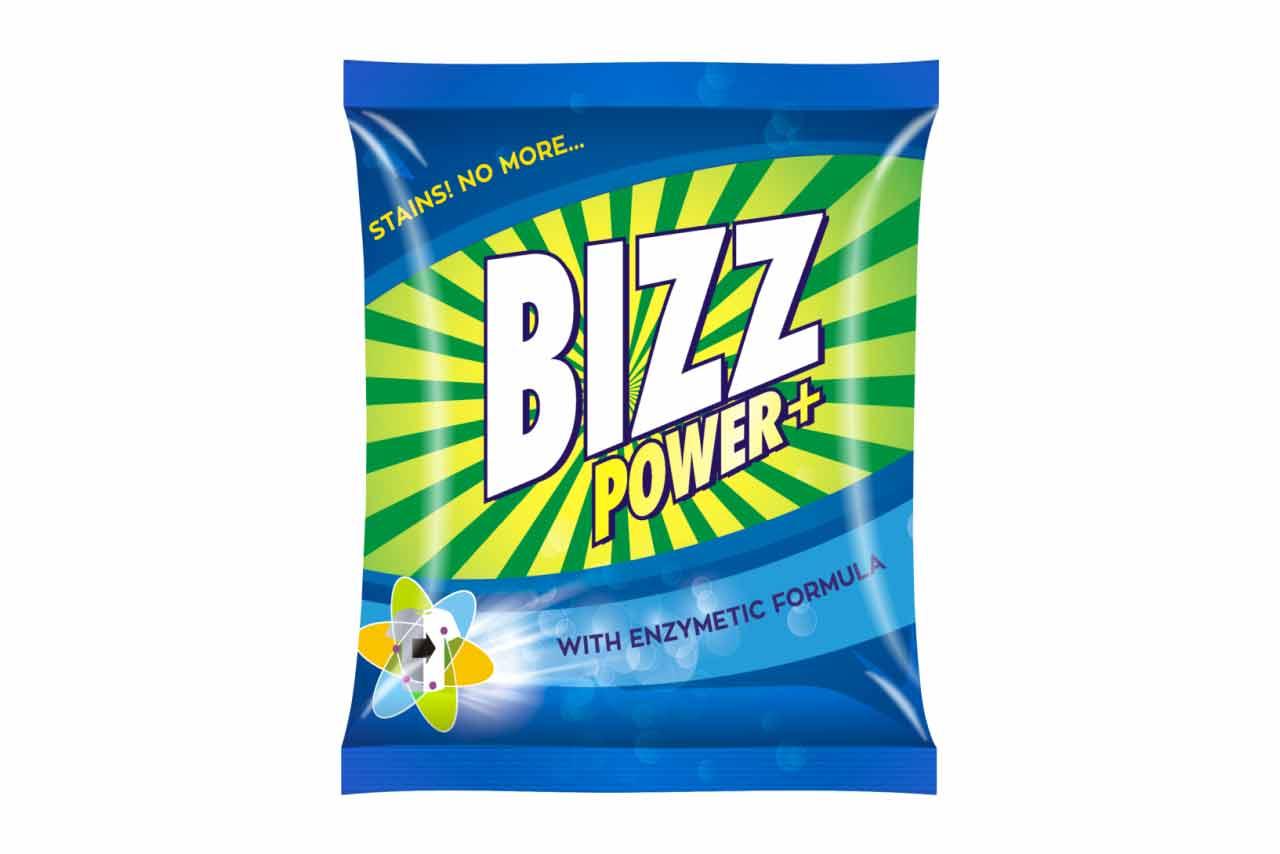 Bizz Power Plus Washing Powder170g Rcm Business
