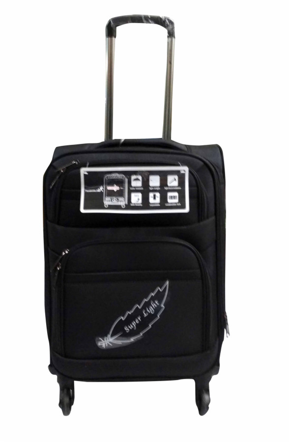 EARTH1002 (20) New-BLACK TRAVEL BAG