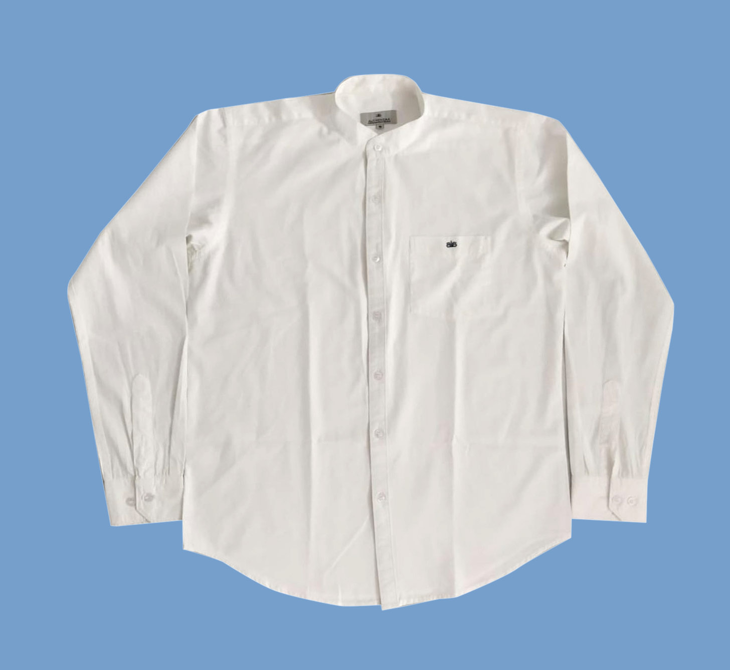 WF CHINESE 01-WHITE FORMAL SHIRT