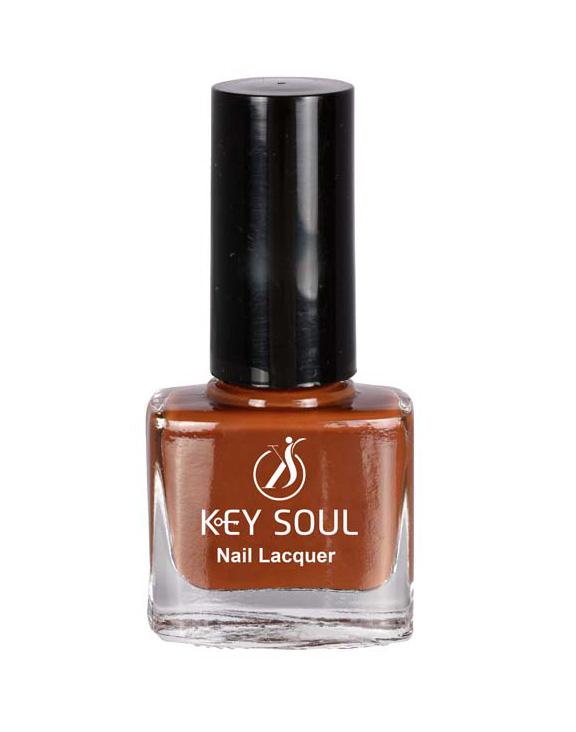 Keysoul choco brown Nail Paint