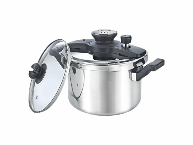 Ss Clip On Svachh 5L Pressure Cooker