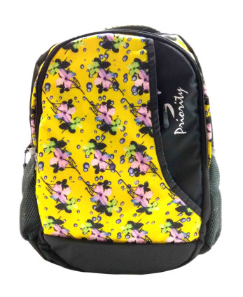 CODE 03-YELLOW BACKPACK WITH RAIN COVER