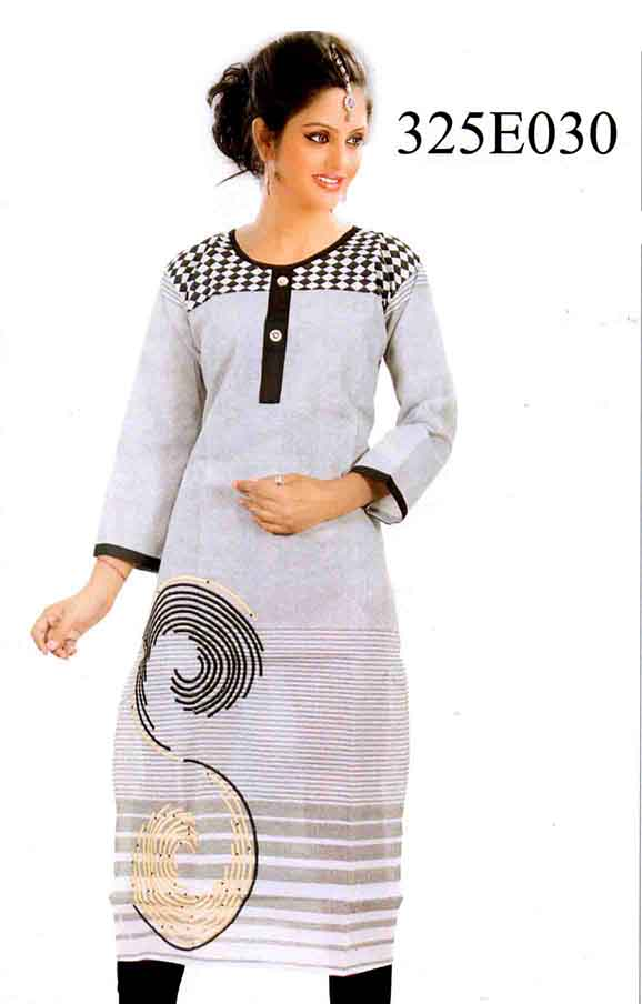 SMC DESIGN 325 E-D NO 12 STYLISH RAYON KURTI