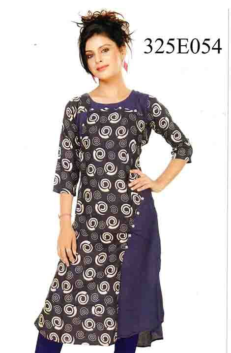 SMC DESIGN 325 E-D NO 3 STYLISH RAYON KURTI