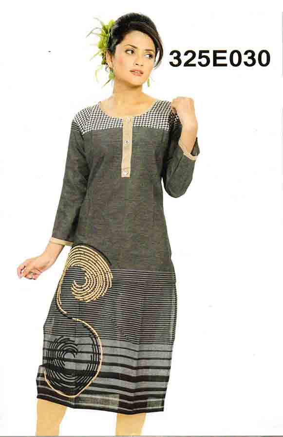 SMC DESIGN 325 E-D NO 9 STYLISH RAYON KURTI