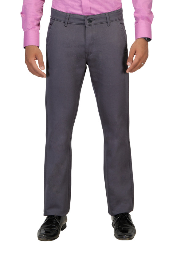 UTD 644 Dark Grey Casual Trouser
