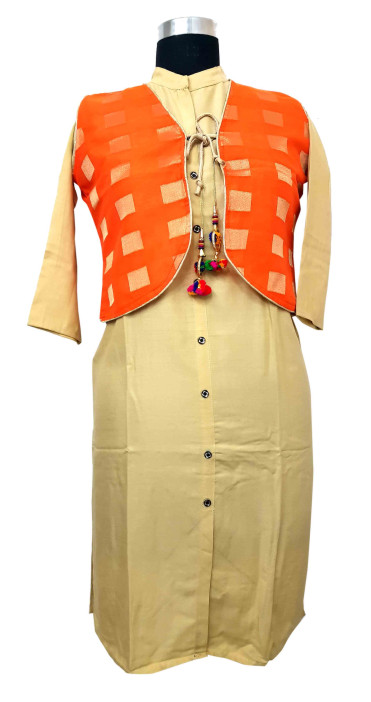 WK-SFAB-SUF DNO 7-BEIGE/ORANGE