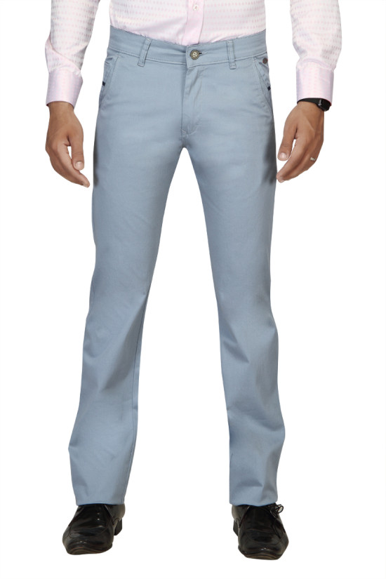 UTD 954 Sky Blue Casual Trouser