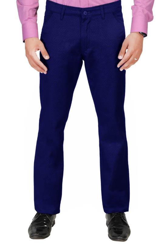 UTD 972 Dark Blue Casual Trouser