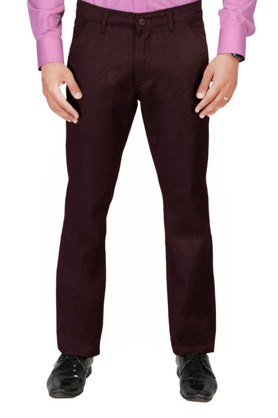 UTD 972 Choclate Casual Trouser