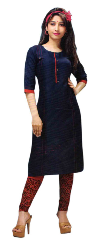 SC DREAM WEAR-D NO 5 STYLISH KURTI WITH LEGGING