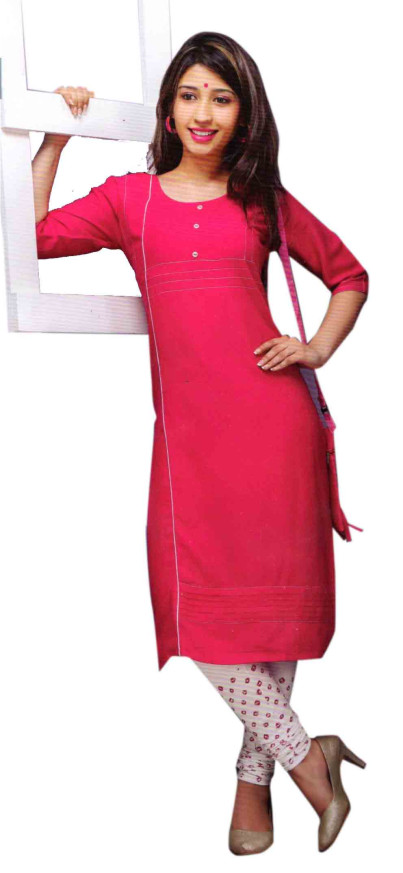 SC DREAM WEAR-D NO 9 STYLISH KURTI WITH LEGGING