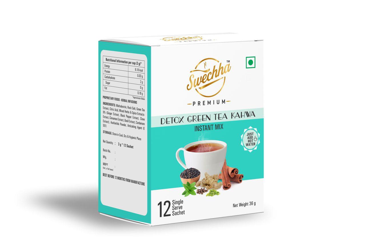 Detox Green tea Kahwa 36g (12 sachet)