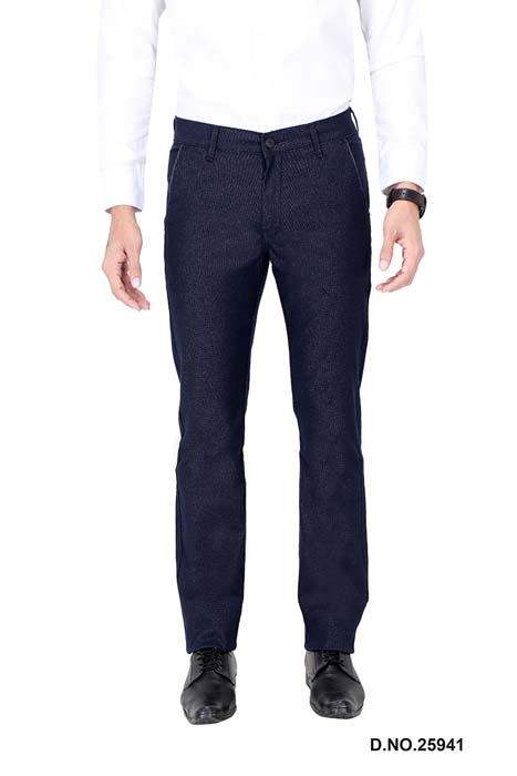 UTD ECO RANGE 10-BLUE CASUAL TROUSER