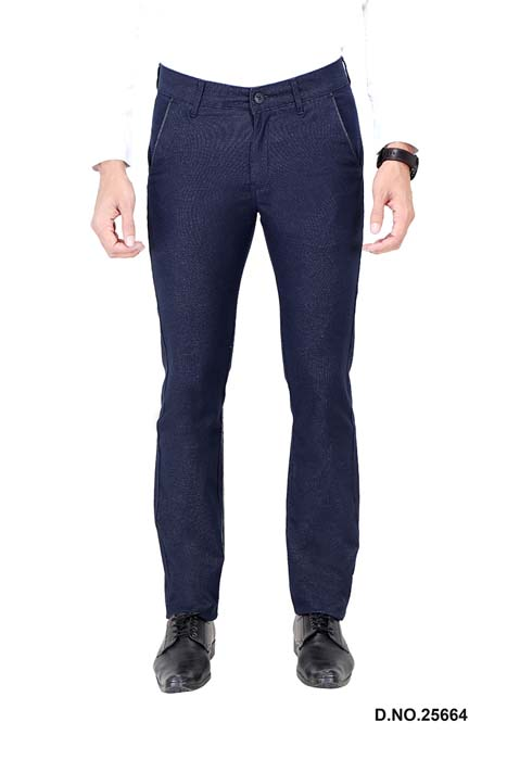 UTD ECO RANGE 9-BLUE CASUAL TROUSER