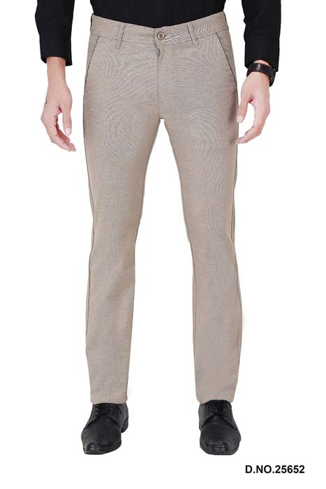 UTD ECO RANGE 9-CREAM CASUAL TROUSER