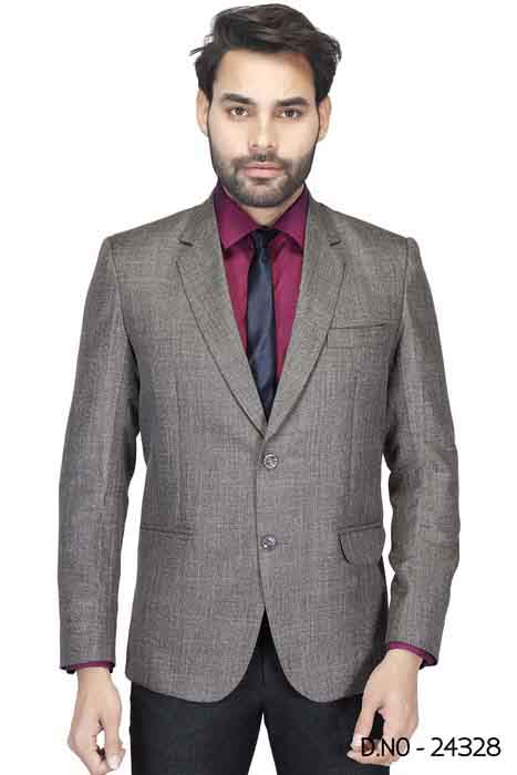 MEN'S FORMAL BLAZAR 03-BROWN
