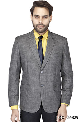 MEN'S FORMAL BLAZAR 03-LIGHT GRAY