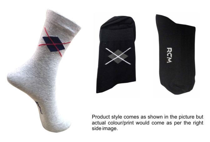 FOXY 01-D NO 11-MEN FORMAL STRETCHABLE SOCKS