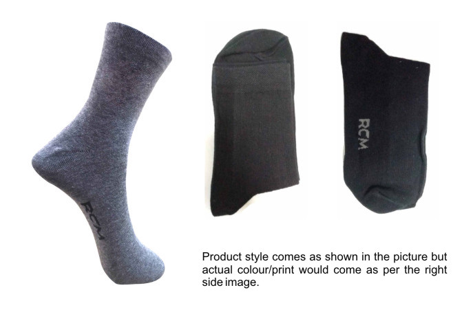 FOXY 01-D NO 15-MEN FORMAL STRETCHABLE SOCKS