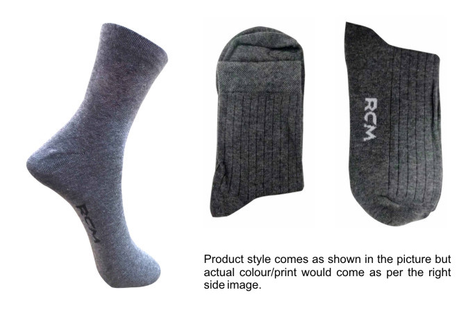 FOXY 01-D NO 7-MEN FORMAL STRETCHABLE SOCKS