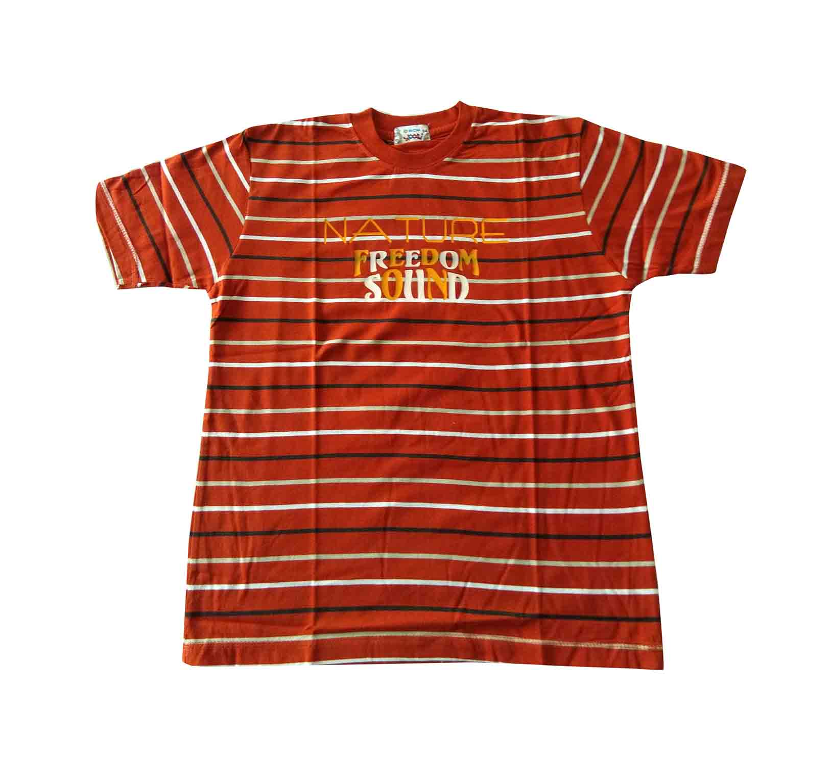 KT JUNE FREEDOM SOUND-TAN KIDS T SHIRT