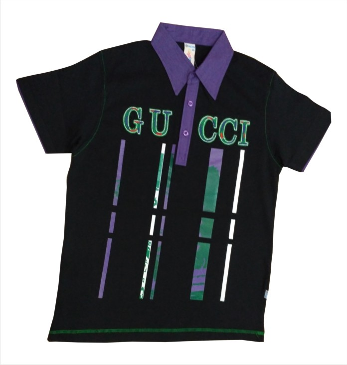 FSPL Gucci - Black Collar T-shirt