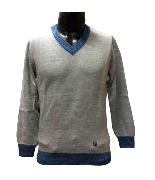 FSPL V NECK - Gray Pullover