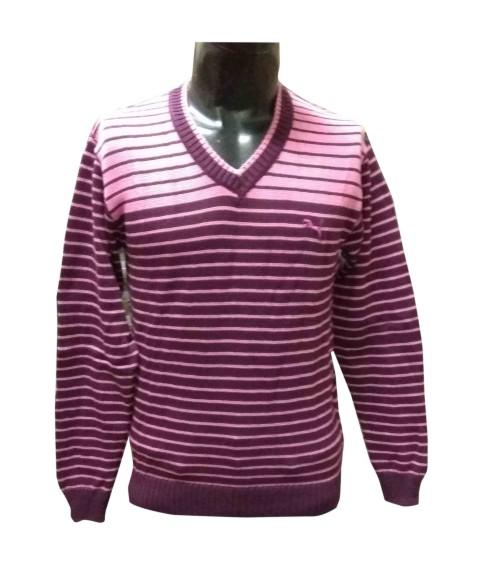 FSPL V NECK - Pink Pullover