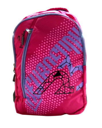 FUTURA 01-PINK BACKPACK WITH RAIN COVER