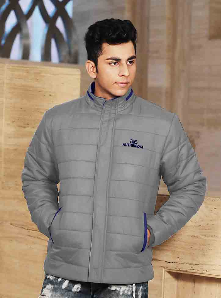 MJK MI6 07-GRAY WINTER JACKET