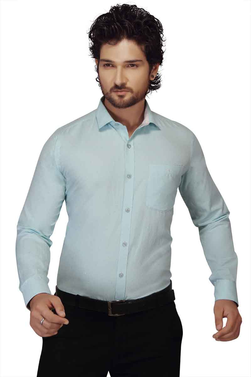 HARDIK 01-LIGHT BLUE FORMAL SHIRT