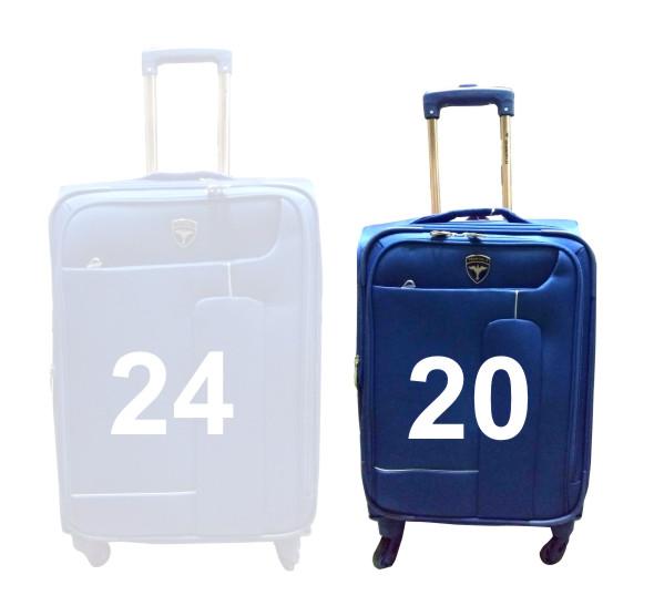 "TB HAWAI 20""-BLUE TRAVEL BAG"