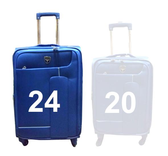 "TB HAWAI 24""-BLUE TRAVEL BAG"