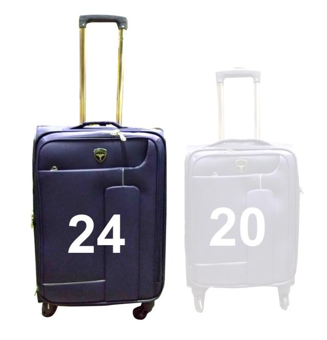 """TB HAWAI 24""""-PURPLE TRAVEL BAG"""
