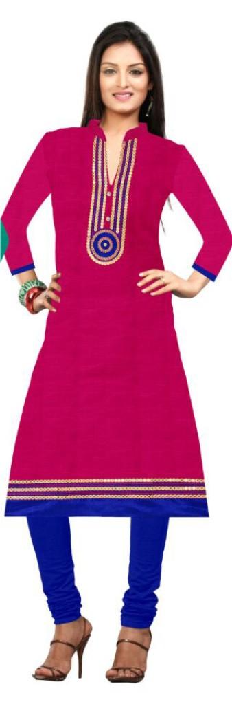 HI LITES UC - Pink Stitched Kurti