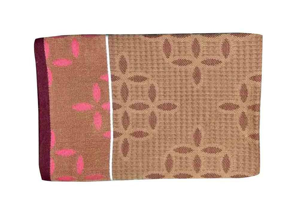 HONEYCOMB 3-BROWN-COTTON TOWEL