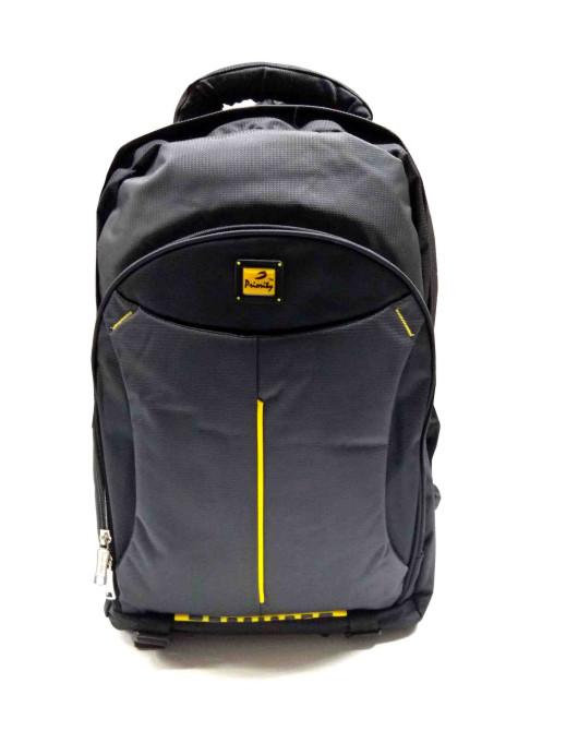 HS JASON 01-BLACK/YELLOW Backpack Bag