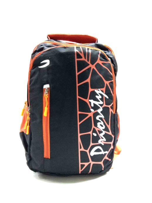 HS MARCUS 11-BLACK/ORANGE Backpack Bag