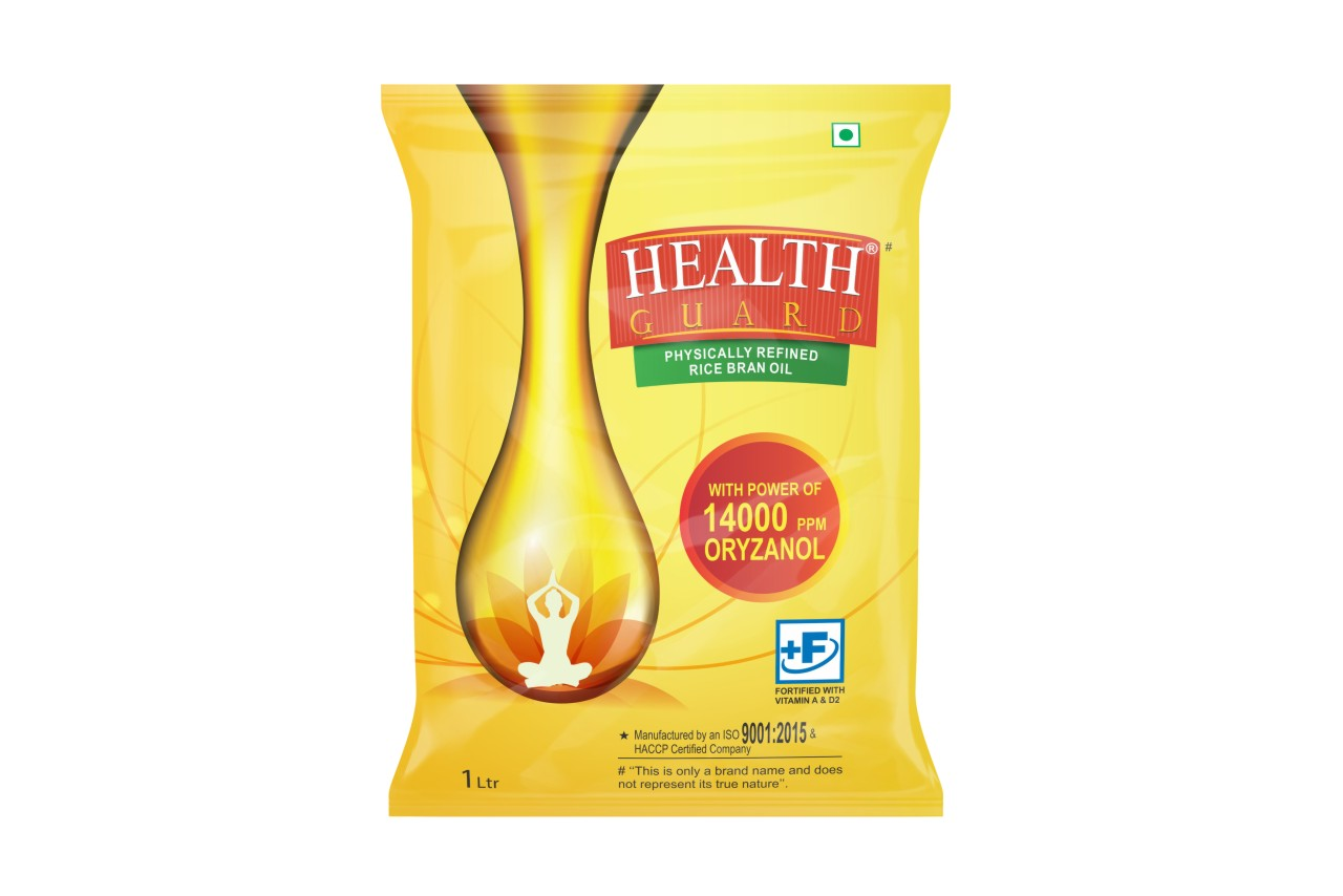 Rcm Health Guard Rice Bran Oil(1ltr)