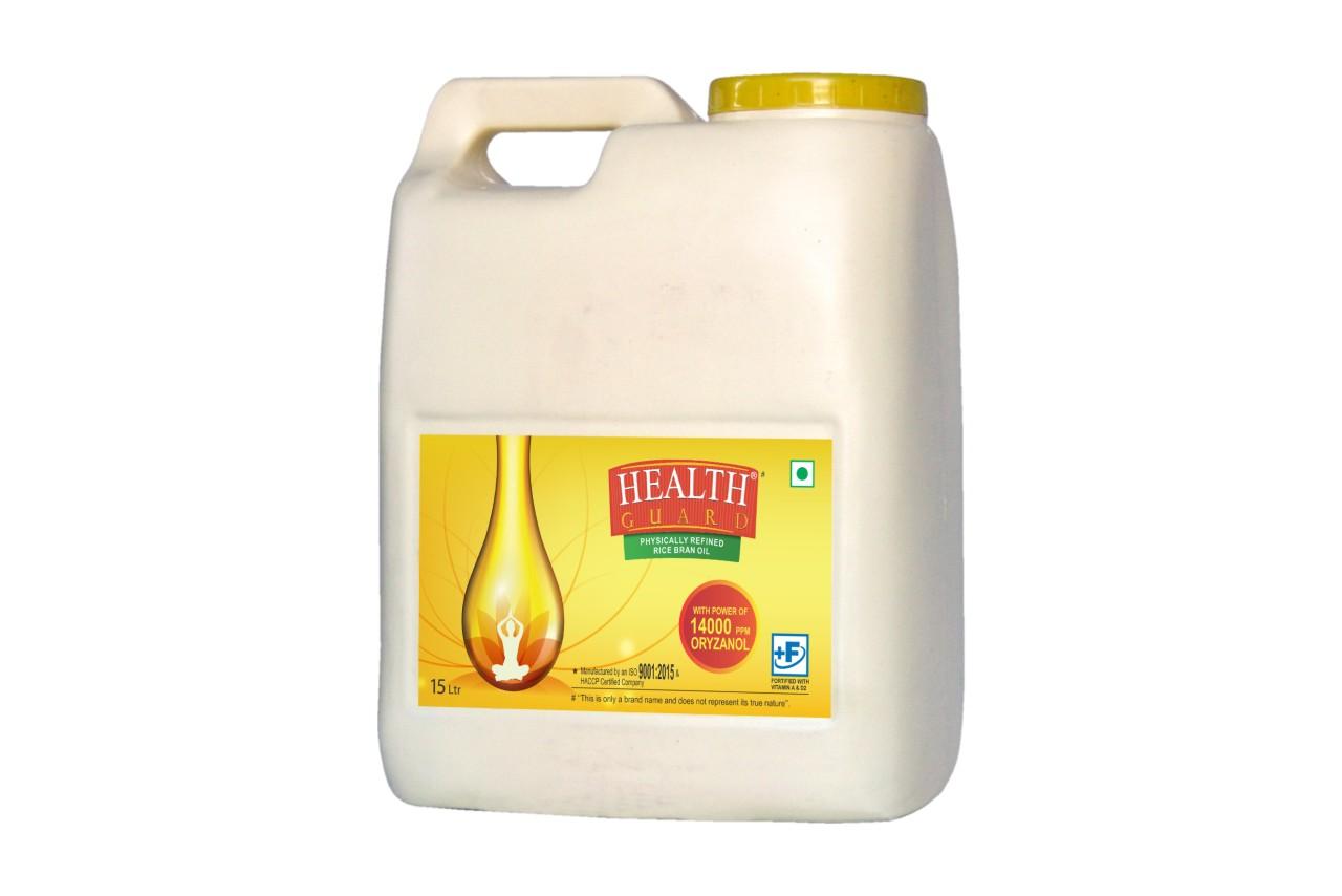 Health Guard Rice Bran Oil(15 Ltr)